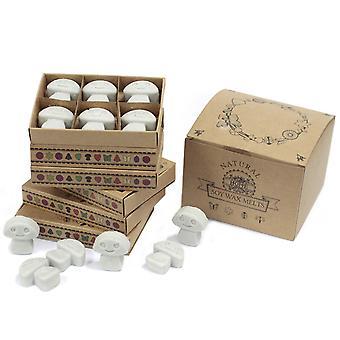 Boîte de 6 fondus de cire - Patchouli foncé X 1