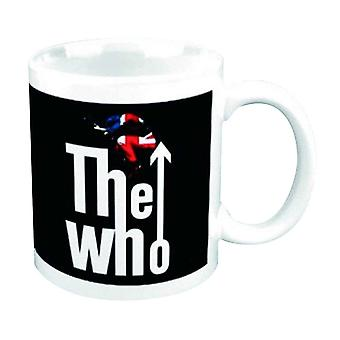 The Who Mug Leap band Logo new official Boxed