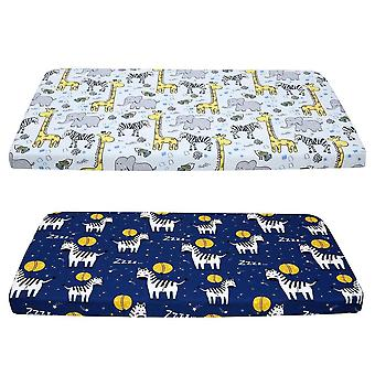 Crib Sheet Set, Baby Mattress Fitted Sheet