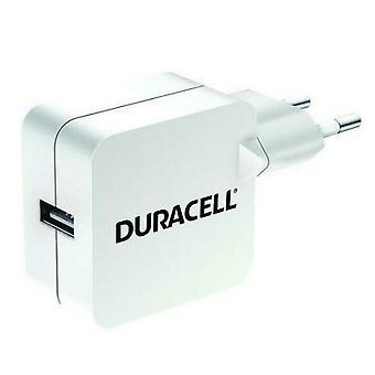 EU Plug USB - Duracell Power Adapter 2.4 A - DRACUSB2W-EU