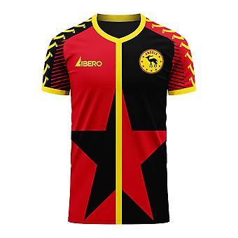 Angola 2020-2021 Home Concept Football Kit (Viper)