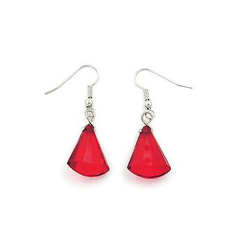 Hook Earrings Red