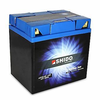 Shido Motorcycle Lithium Iron Battery LiFePO4 12V 8Ah 2 0kg 167x124x163mm
