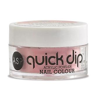 ASP Quick Dip Acryl Tauchen Pulver Nagelfarbe - rosa Frost