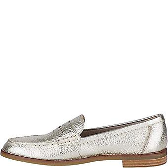 Sperry Womens Penny Leather Closed Toe Loafers