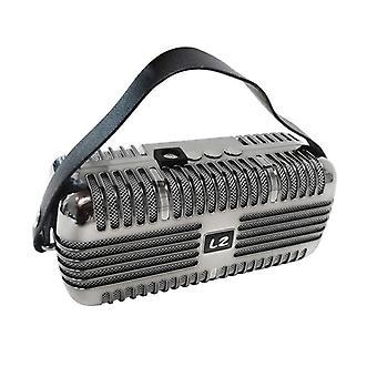 Wireless bluetooth 4.0 - speaker boombox - microphone design - 2x5W