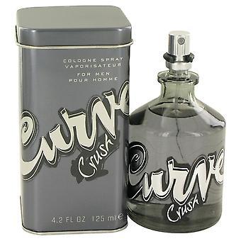Kurven knuse af Liz Claiborne Eau De Cologne Spray 4,2 oz/125 ml (mænd)