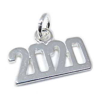 2020 Year Sterling Silver Charm .925 X 1 Olympic Birthday Charms - 8641