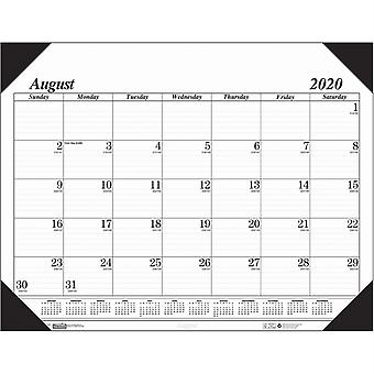 "Economy Academic Monthly Desk Pad Calendar, 17 Months August-December, 22"" X 17"""