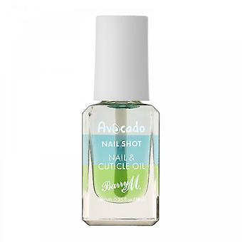 Barry M 3 X Barry M Nail Shot Nail & Cuticle Oil - Avocado