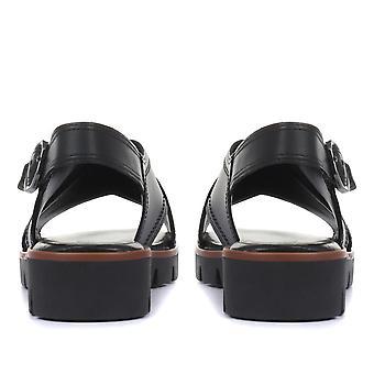 Sandales en cuir Gabor Womens Fete Platform