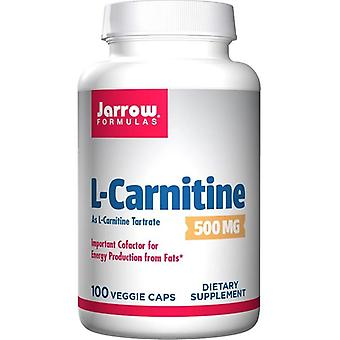 Jarrow Formulas L-Carnitine 500mg Vegicaps 100