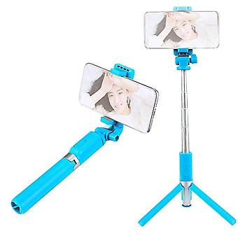 Selfie stativ stativ og telefonholder multifunktionel mobiltelefon selfie stang