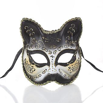 Masque de mascarade de carnaval adulte demi visage Partie Cartoon Venice Mask