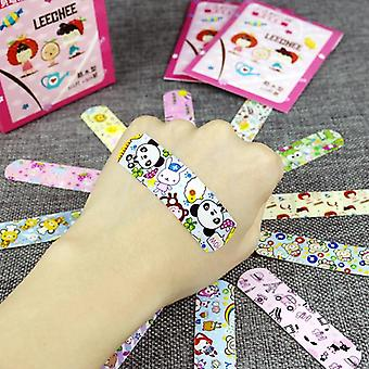 Baby Care Vandtæt åndbar Cartoon Band Aid (100pcs)