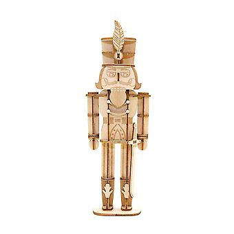 Incredibuilds Christmas Collection Nutcracker 3D Wood Model