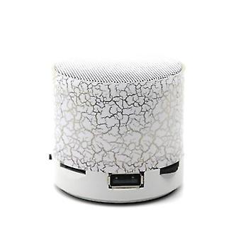 Hordozható színes Mini Bt hangszórók vezeték nélküli kihangosító LED hangszóró