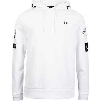 Fred Perry Authentics Bold Branding Hooded Top