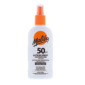 Malibu Lotion Spray SPF50 200ml