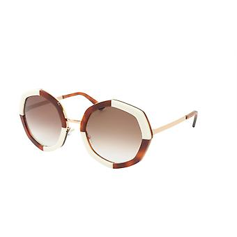 Face A Face Sunglasses Frame CHANCE 2 Col. 3411 Acetate Metal Pearl Havana Check