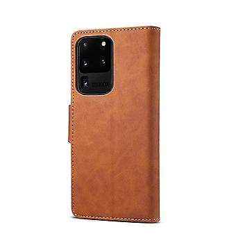 Lommebok skinnveske kortspor for iphone11 6.1 brun pc2415