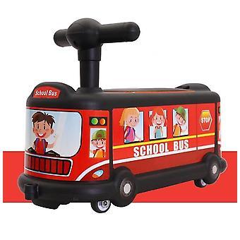 Автобус Мультфильм в Twisting Car 1-3 лет Старый Baby Rolling Car Универсальный Silent