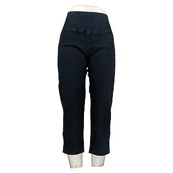 Kvinder med kontrol mave Kontrol Prime Stretch Crop Jeans Blue A306449