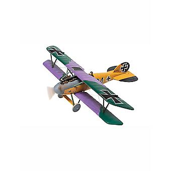 Albatros D.V 2111/17 M (Martin Mallmann Jasta 19 Les Tangos Western Front 1918) Diecast Model Airplane (Modellen)