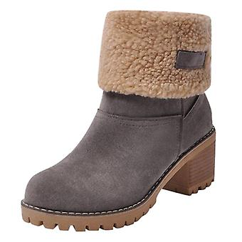 Winter Warm Snow Boots, Women Casual Shoes