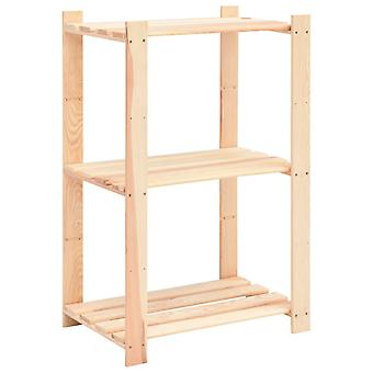vidaXL opbergplanken 3 verdiepingen 10 st. 60x38x90cm massief hout grenen 150kg