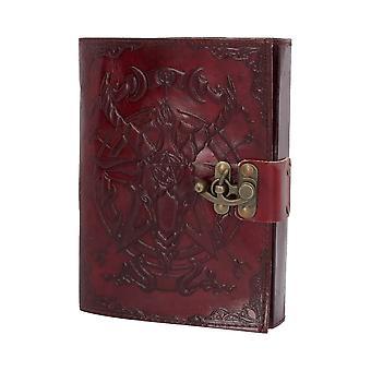 Baphomet Leather Journal