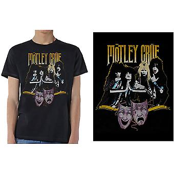 Motley Crue - Teater Vintage Herr X-Stor T-Shirt - Svart