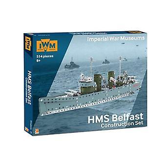 Imperial War Museum Construct Set HMS Belfast Construction Set