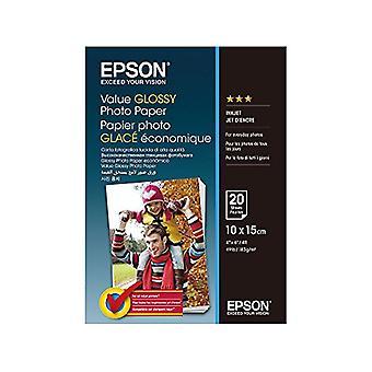 Epson C13S400037Photo Paper 20Sheets 10x 15cm