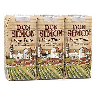 Rødvin Don Simon (3 x 187 ml)
