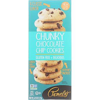 Pamelas Cookies Chunky Choco Chip, Case of 6 X 6.25 Oz