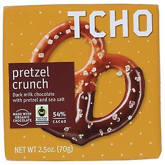 Tcho Chocolate Bar Pretzel, Case of 12 X 70 Gram