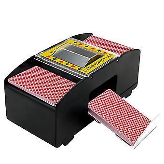 2020 الكهربائية التلقائي بطاقة المراوغة مثالية لجسر أو لعبة البوكر حجم لعب الورق