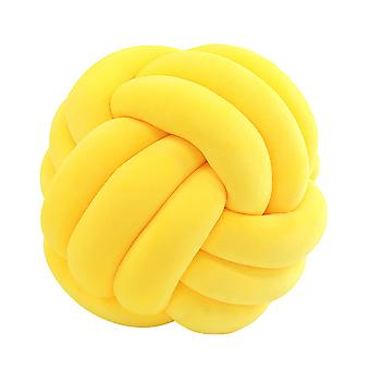 27cm Soft Knot Cushion Knotted Ball Pillow Sofa Decorative Throw Pillow Car Home Soft Toy Baby Nap Pillow