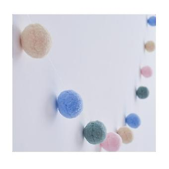 Children's Room Decoration Felt Ball String Tent Accessories Creative Home Decoration Wall