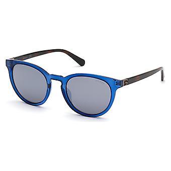 Heren zonnebril Guess GU000055390C Blauw Grijs (ø 53 mm)