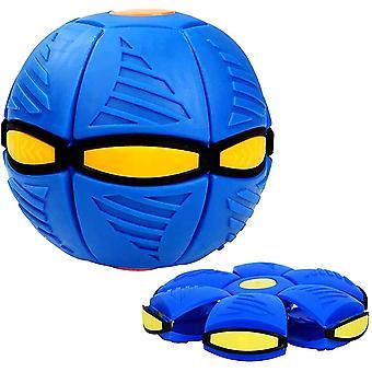 Magic Ufo Ball , Outdoor Parent-child Game Ball(Blue)