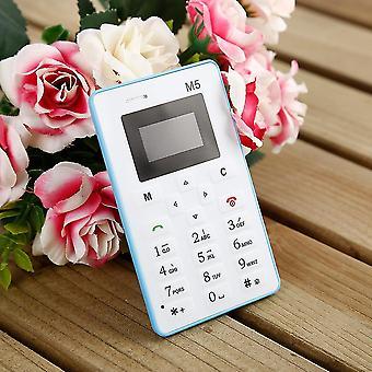 Ultra dunne kaart zak mini mobiele telefoon dual band lage straling voor kinderen