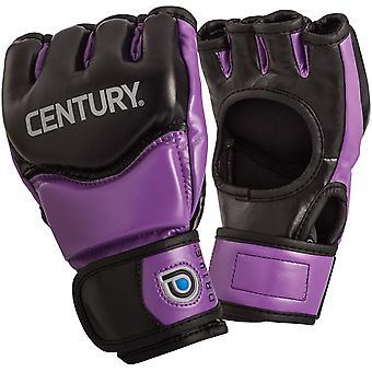 Century Drive Women's Thumbless Open Palm MMA Fight Gloves - Black/Purple