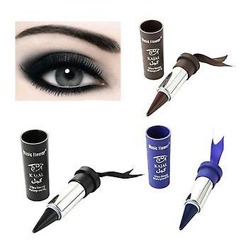 Waterdichte rokerige ogen Eyeliner dikker vetgedrukte zwarte ogen liner