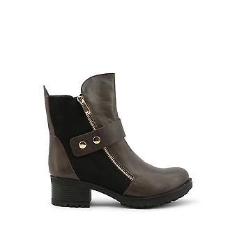 Роккобарокко - Обувь - Ботильоны - RBSC1K201STD-GRIGIO - Женщины - серый, черный - EU 37