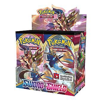Pokemon Cards Sword & Shield Sealed Booster Box Collection Sammelkartenspiel Spielzeug| Kartenspiele