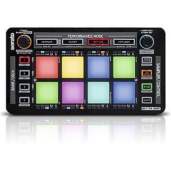 Neon – Add-On USB DJ Controller mit anschlagdynamischen RGB-Performance-Drumpads, Plug and