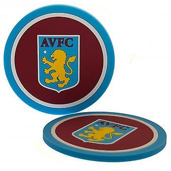 Aston Villa 2pk Coaster Set