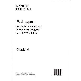Trinity Past Papers: Theory of Music (2007) Gd 4